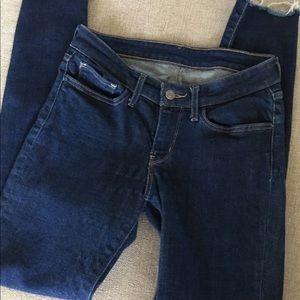 Levi original blue denim jeans